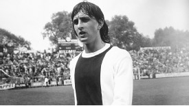 Johan Cruyff won the European Cup with Ajax Amsterdam three years in a row.