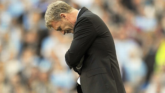David Moyes has nowhere to hide at the Etihad.