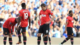 Michael Carrick and his United team-mates have nowhere to hide at the Etihad.