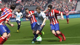 The nuance of the sport shines through in FIFA 14's enhanced game play.