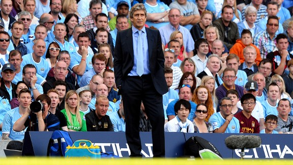 Manuel Pellegrini was full of conviction ahead of Manchester derby.