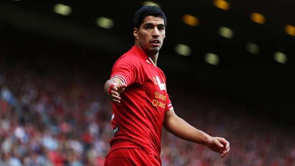Luis Suarez return to action after serving his 10-game ban.