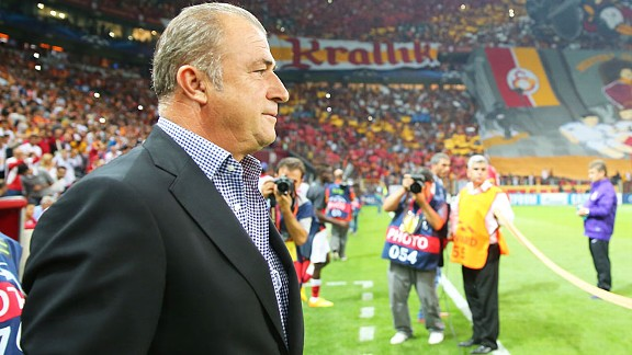 Fatih Terim before Gala suffered a 6-1 home hammering at the hands of Real Madrid in the Champions League.