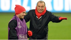 It is though Fatih Terim was not completely on board with the signing of Wesley Sneijder.