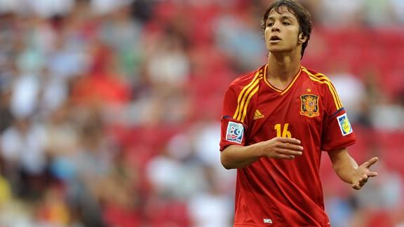 Atletico Madrid and Spain youngster Oliver Torres.