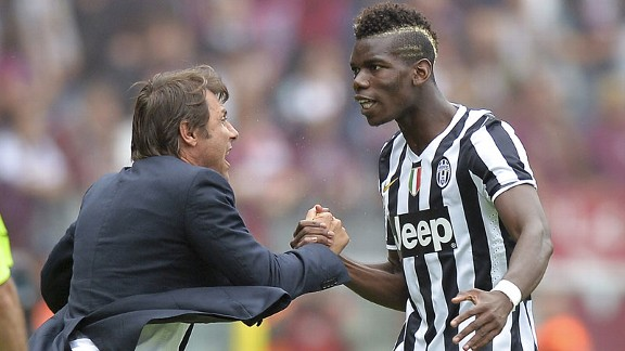 Antonio Conte, Paul Pogba