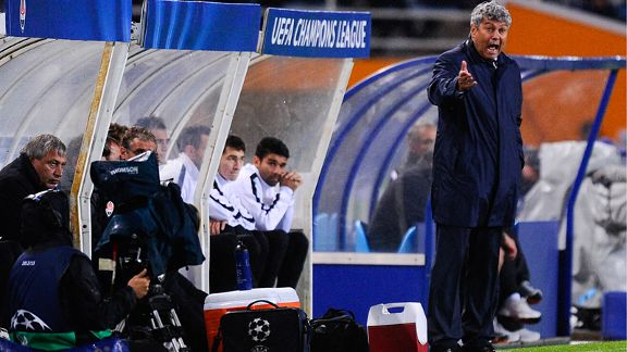 Mircea Lucescu has plenty of problems at Shakhtar Donetsk.