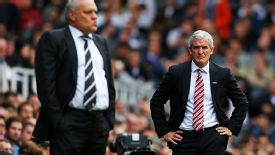 Mark Hughes' Stoke fell to Fulham despite their strong passing game.