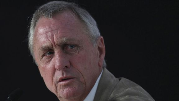 Johan Cruyff is arguably the most influential figure in football's history.