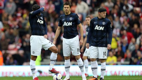 Manchester United woe at Sunderland Carrick Rooney Van Persie