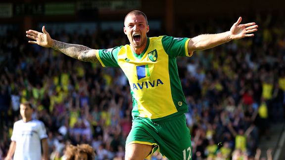 Anthony Pilkington Norwich celeb Chelsea