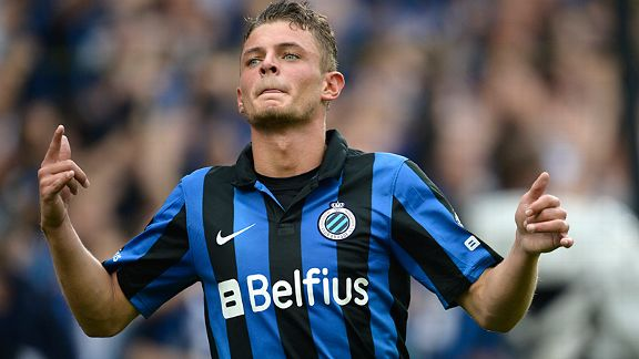 Maxime Lestienne of Club Brugge is a stand out talent.