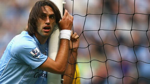 Giorgios Samaras scored eight goals for Manchester City.