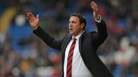 Cardiff manager Malky Mackay's future at the club remains in limbo.