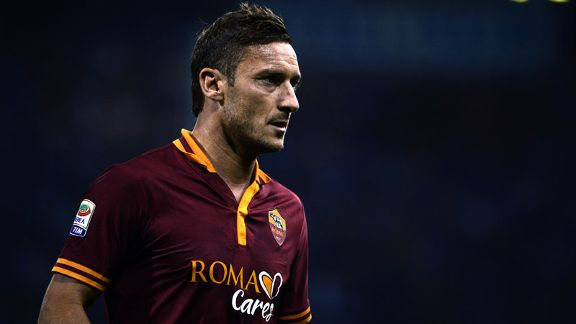 Francesco Totti Roma kit