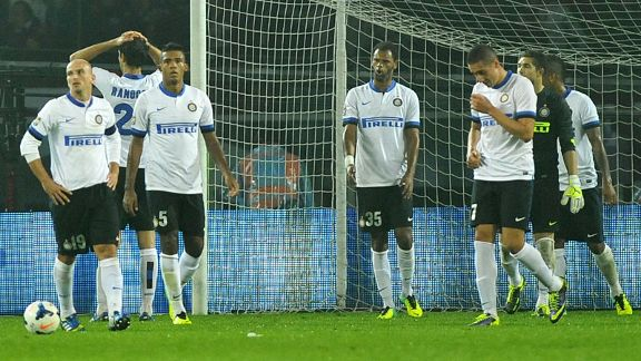 Inter Milan struggled to hide their disbelief after Torino grabbed a late equaliser.