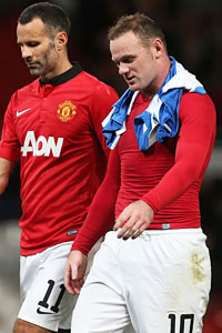 Ryan Giggs and Wayne Rooney pushed United on to victory against Real Sociedad.