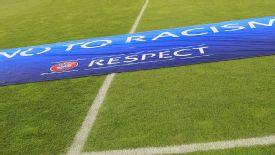 UEFA has been running a Football Against Racism in Europe Action Week.