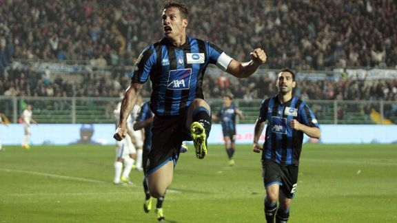 German Denis Atalanta celeb v Inter Milan