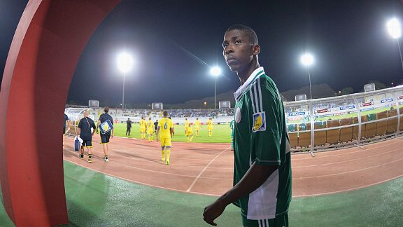 Nigeria's Kelechi Iheanacho has caught the eye at the U17 World Cup.