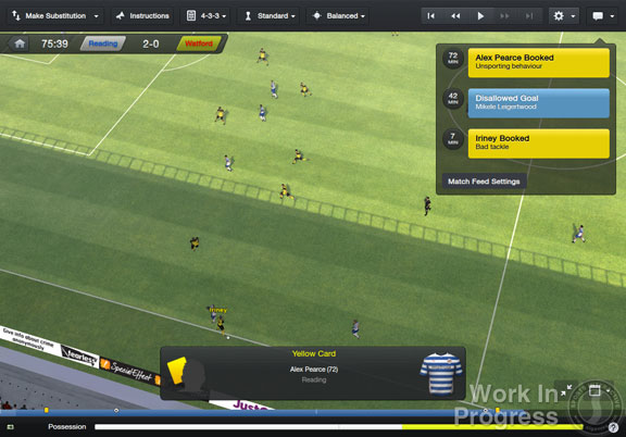 Football Manager 2014 benefits from added depth with a more straightforward user system.