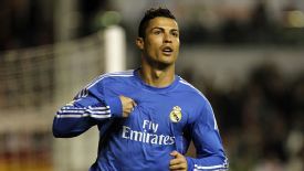 Cristiano Ronaldo scored twice for Real Madrid in their win against Rayo Vallecano.