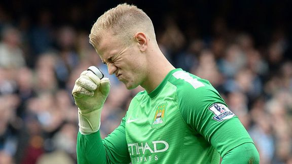 Joe Hart woe