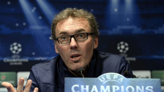 Laurent Blanc Champions League presser 20131104