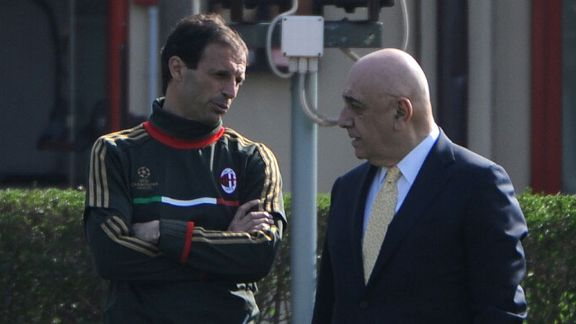 Massimiliano Allegri, Adriano Galliani