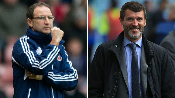 Ireland are close to the appointment of Martin O'Neill and Roy Keane.