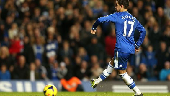 Eden Hazard Chelsea penalty vs West brom