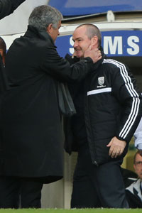 Steve Clarke and Jose Mourinho Chelsea vs West Brom
