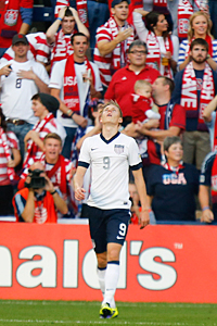 Aron Johannsson chose the USA over Iceland.