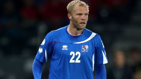 Eidur Gudjohnsen is still going strong for Iceland in their World Cup bid.
