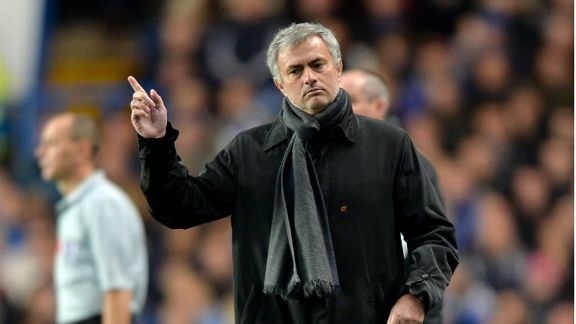 Jose Mourinho during Chelsea's Premier League draw with West Brom.
