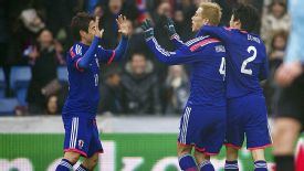 Shinji Kagawa and Keisuke Honda linked up well to salvage a draw against the Netherlands.