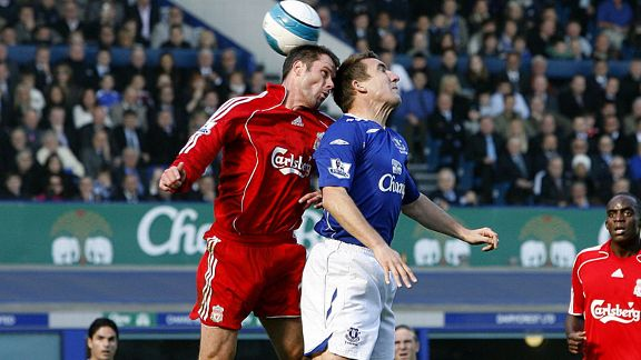 Alan Stubbs vs. Jamie Carragher Everton vs Liverpool