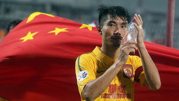 Zheng Zhi is in the running for the Asian Player of the Year award.