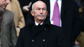 Tony Pulis was at the KC Stadium to watch his new team Crystal Palace take on Hull City.