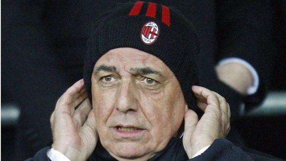 Adriano Galliani Milan bobble hat