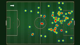 Philippe Coutinho's pass map shows his influence against West Ham.