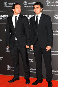 Rafael and Fabio Manchester United awards