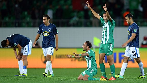 Raja Casablanca revel in their Club World Cup triumph.