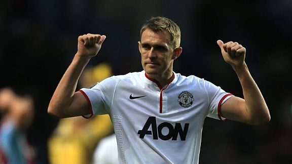 Darren Fletcher return United Villa