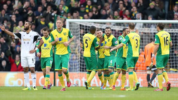 Gary Hooper group celeb Swansea Norwich