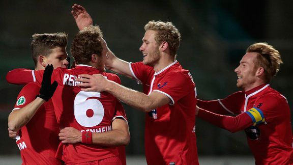 Heidenheim are in sight of a spot in the Second Bundesliga.