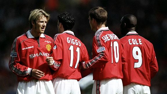 On the field Teddy Sheringham and Andy Cole were part of a successful team. Off it ... that's another question.