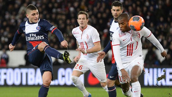 Marco Verratti again showed his importance to PSG.