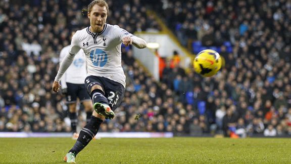 Christian Eriksen Tottenham free-kick vs. West Brom