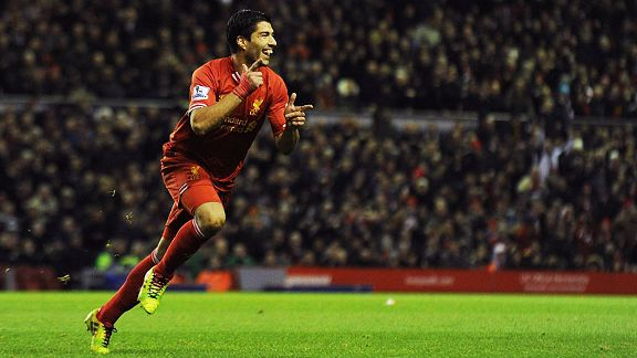 Luis Suarez scored another fine freekick to put Liverpool two up against Hull.